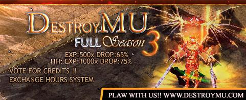 DestroyMU | x500 | Season 3 D_ESTROYmu