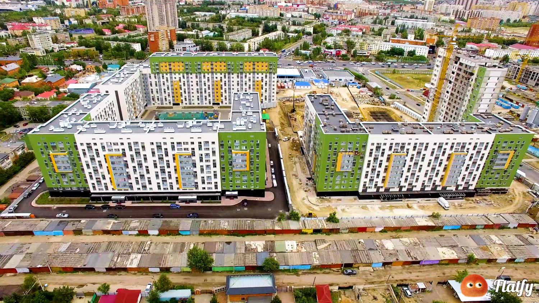 Многофункциональный сайт для поиска жилья в Казахстане