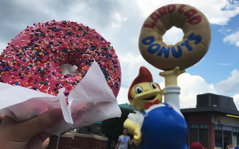 Lard Lad Doughnut at Universal Orlando