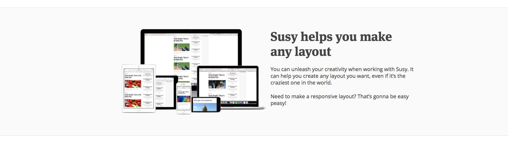 کانتینر در طراحی وب سایت Sussy
