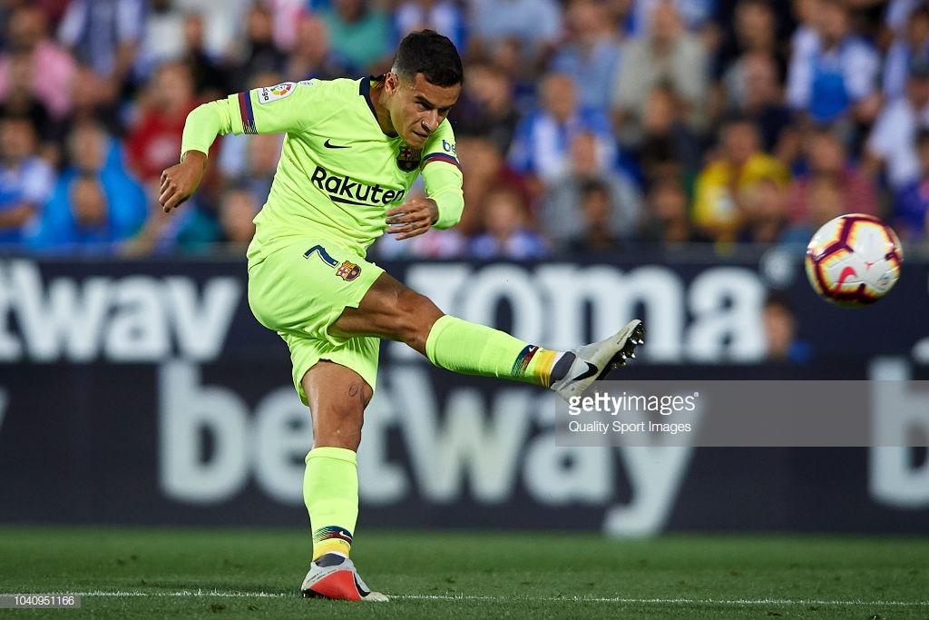 صور مباراة : ليغانيس - برشلونة 2-1 ( 26-09-2018 ) Kl