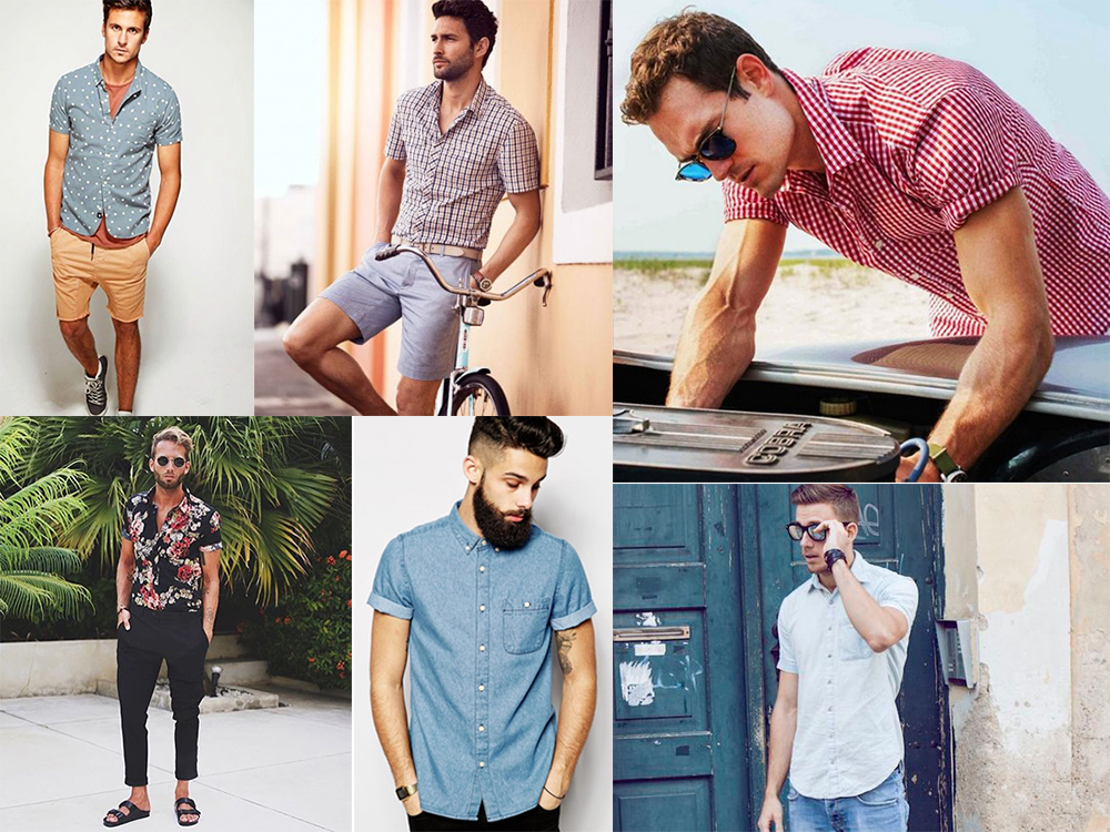 Men's wardrobe for the summer: what you need to know about a shirt with a short sleeve