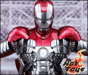 Iron Man Mark V Sixth Scale Figure by Hot Toys