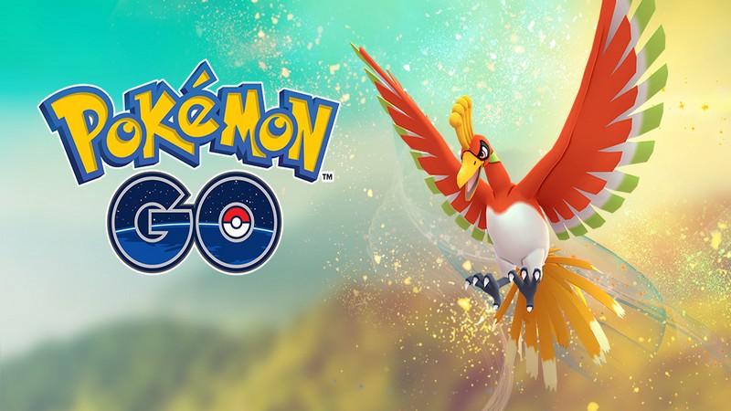 Pokemon GO - Pokemon huyền thoại Ho-Oh chính thức trở lại