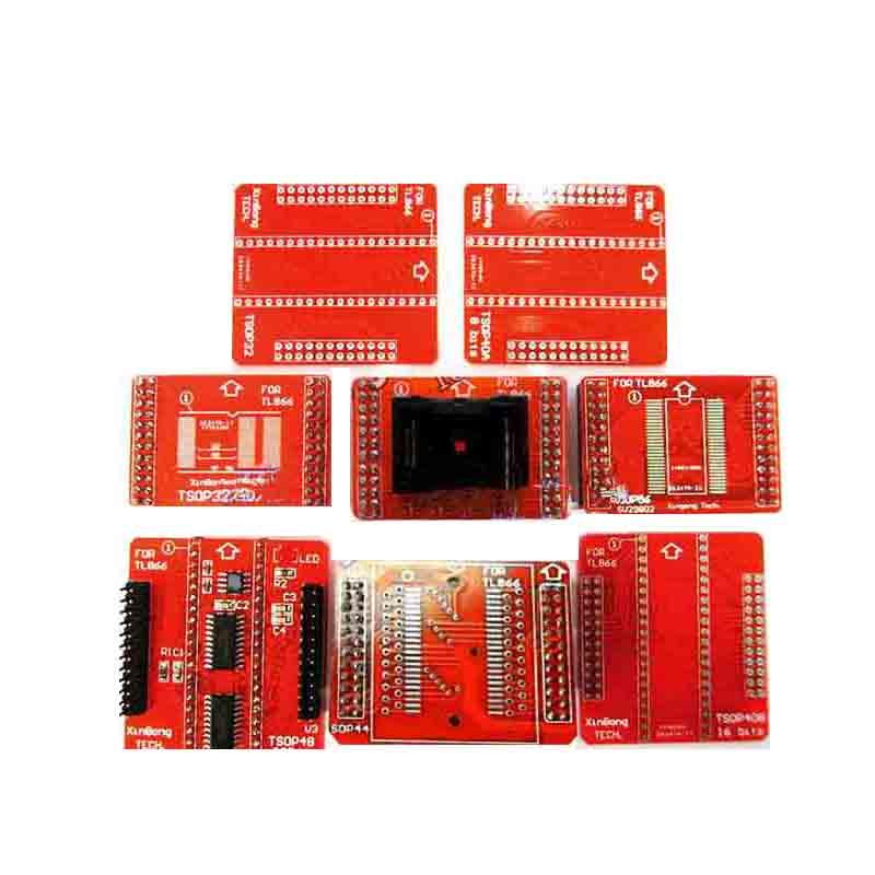 8pcs PSOP44 TSOP40 TSOP56 TSOP48 Socket for TL866CS TL866A TSOP socket