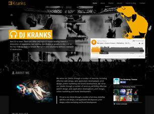 Free template css template dj kranks free css template download download maxwellsz