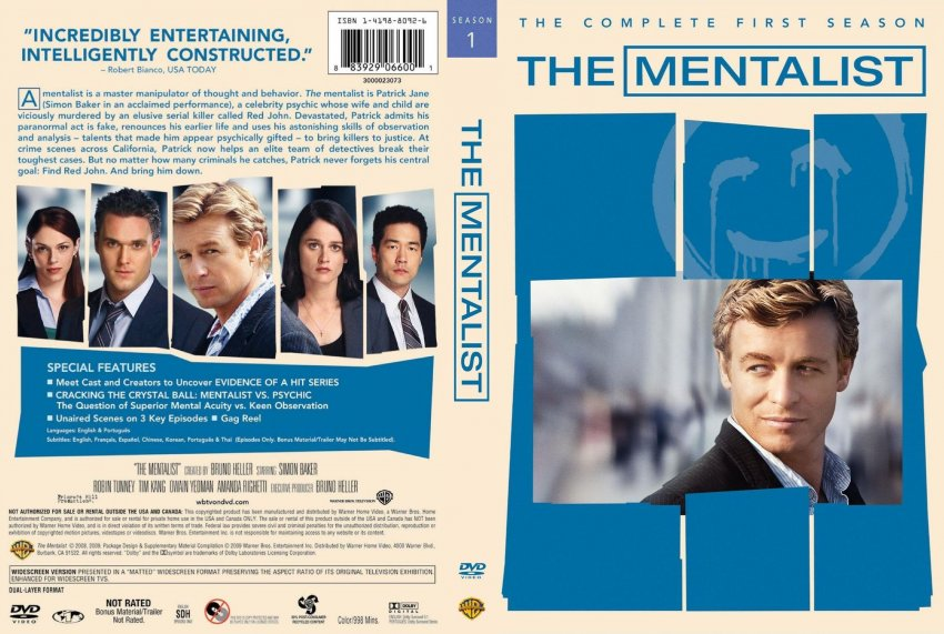 The Mentalist Season 1 1080p x265 10Bits Dual