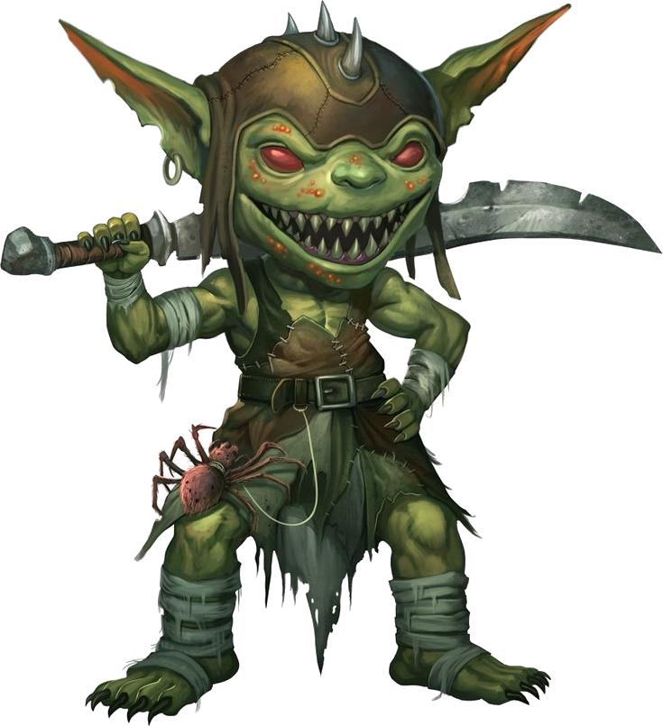 Raça - Goblins Kisspng_pathfinder_roleplaying_game_dungeons_dragons_gob_goblin_png_image_purepng_free_transparent_cc_pn_5b6c4bc845d4e1_971509001533823944286
