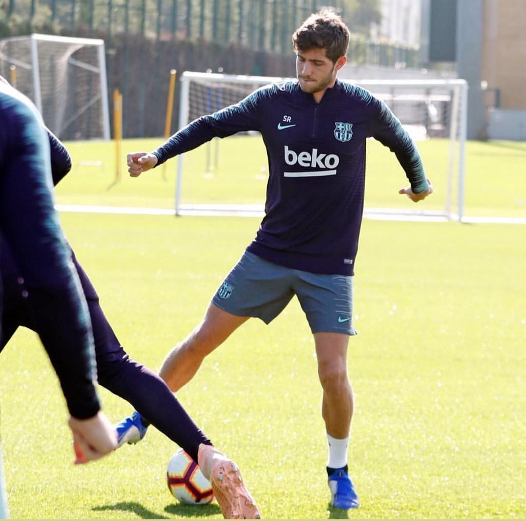 التدريبات متواصلة في برشلونة بانتظار التحاق آخر اللاعبين العائدين من المشاركة في المباريات الدولية مع منتخباتهم الوطنية Ser