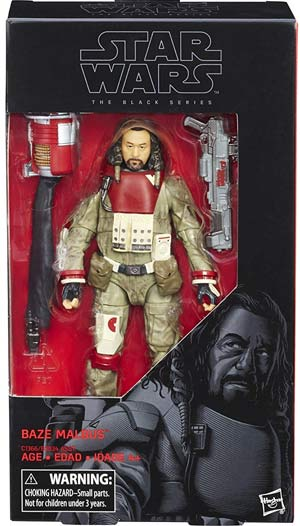 Star Wars Black Series Baze Malbus 6 Inch