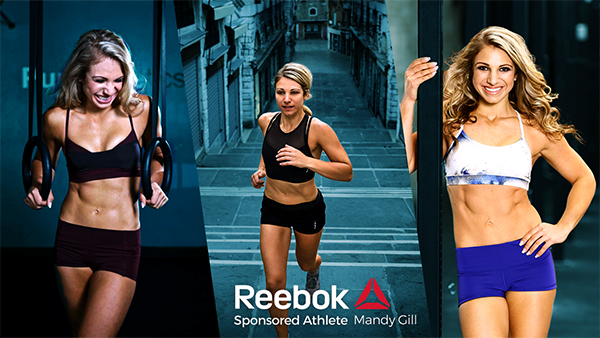 Mandy Gill Reebok Sponsored Athlete