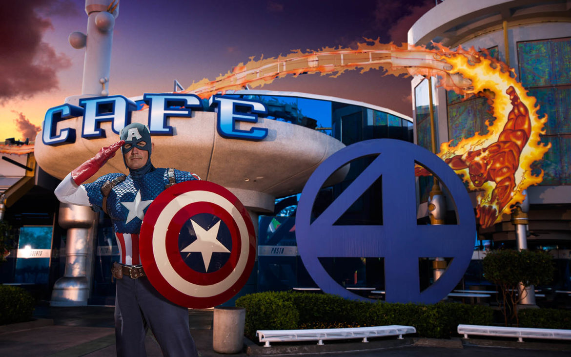 Dine with Marvel characters at Universal Orlando Resort