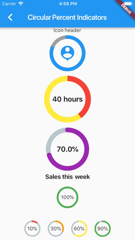 percent_indicator | Flutter Package