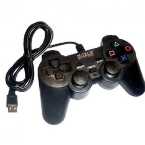 GAMEPAD SINGLE HITAM