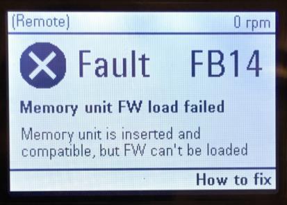 ACS880-FB14-Error