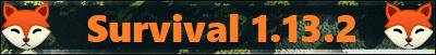 Serveur Minecraft Survival 1.13.2
