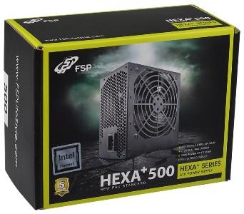 POWER SUPPLY FSP HEXA+ 500W