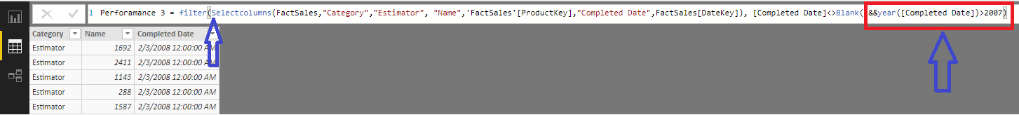 Use-WHERE-condition-in-DAX-with-Union-and-Selectcolumns