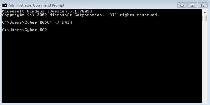 Xem biên Path trên Windows