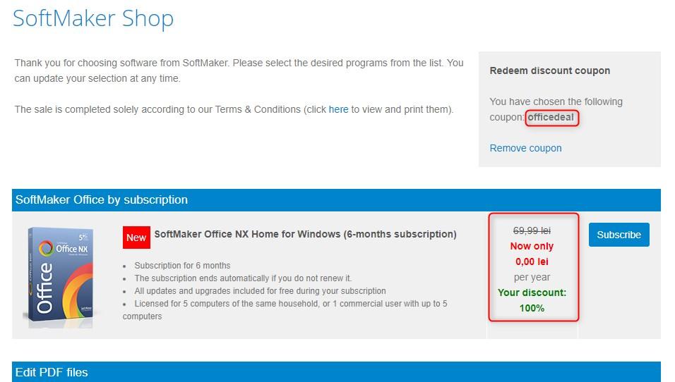 SoftMaker Office 2018 for Windows Free License