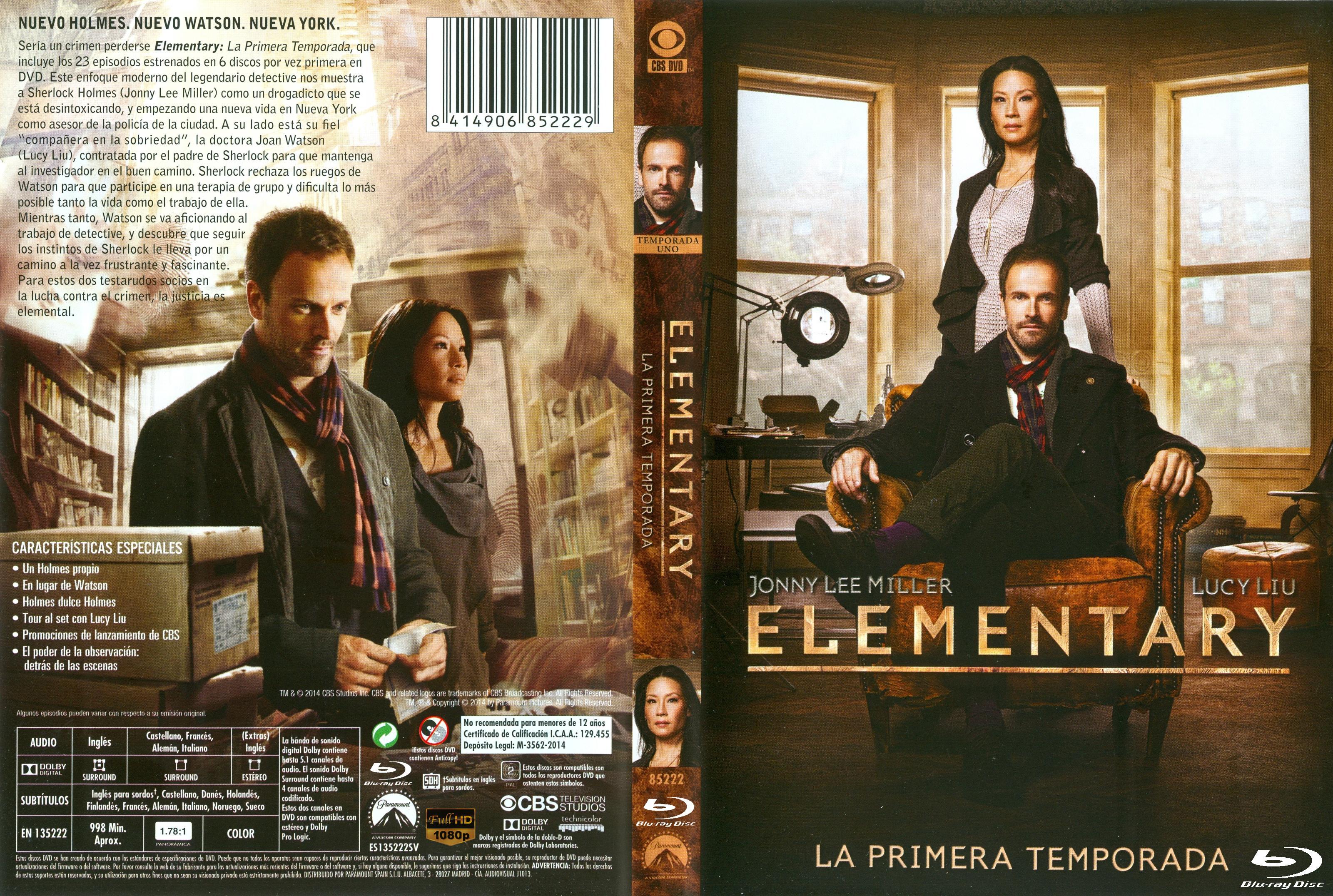 Elementary Season 1 1080p x264 Dual Latino MKV