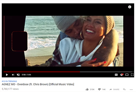 Agnez Mo feat. Chris Brown - Overdose