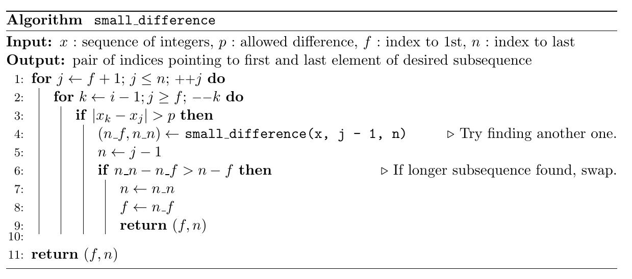 O(n^2) solution