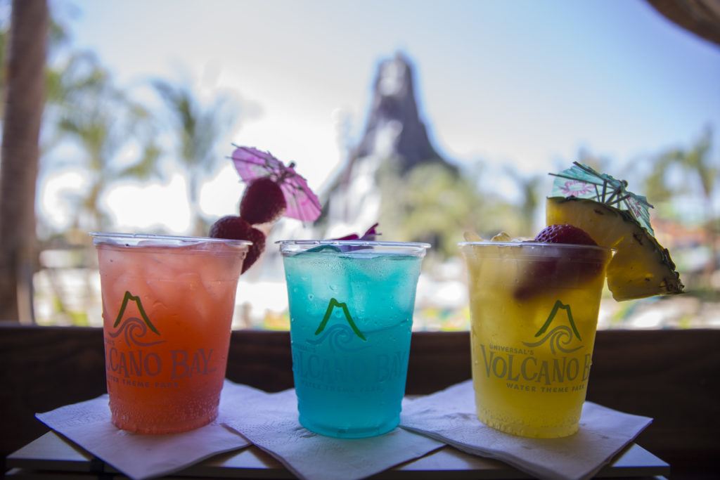 Universal's Volcano Bay cocktails