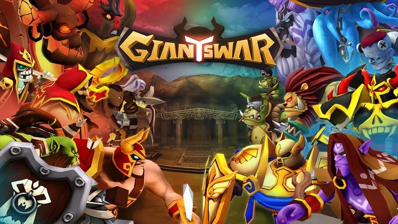 Giants War: Game Thẻ Bài Mới Của GAMEVIL Chính Thức Mở Cửa CBT