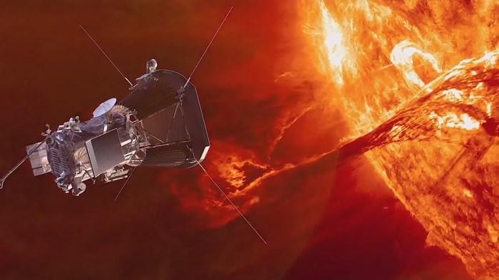 Зонд Зонд NASA Parker Solar Probe коснулся солнечной короны.
