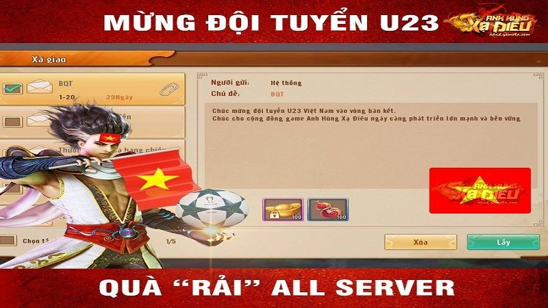 """Cộng đồng game thủ GAMOTA """"xõa bung nóc"""" ăn mừng chiến thắng của đội tuyển U23 Việt Nam"""