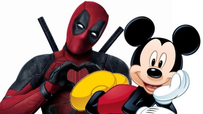 Bựa nhân Deadpool sẽ có số phận như thế nào nếu về chung nhà với Chuột Mickey?