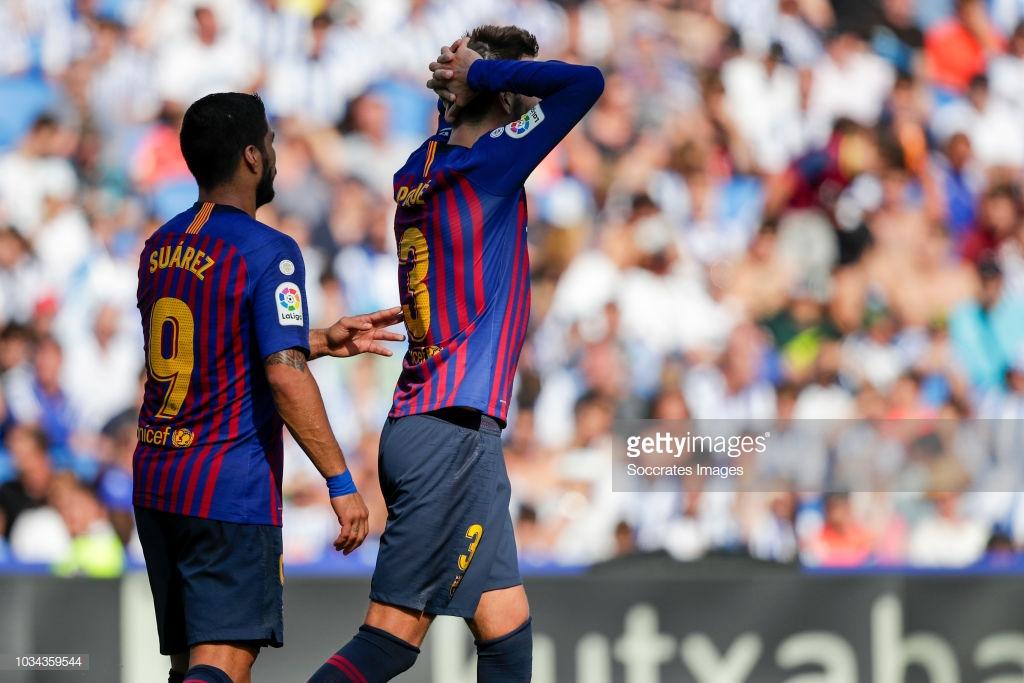 صور مباراة : ريال سوسيداد - برشلونة 1-2 ( 15-09-2018 ) P2