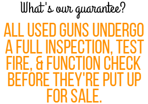 Used Gun Guarantee
