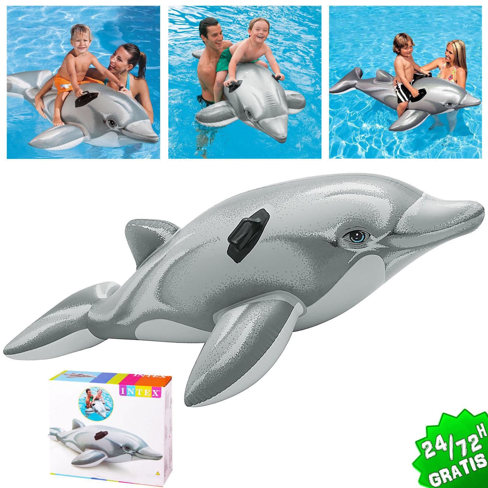 Delfin Hinchable Piscina Playa