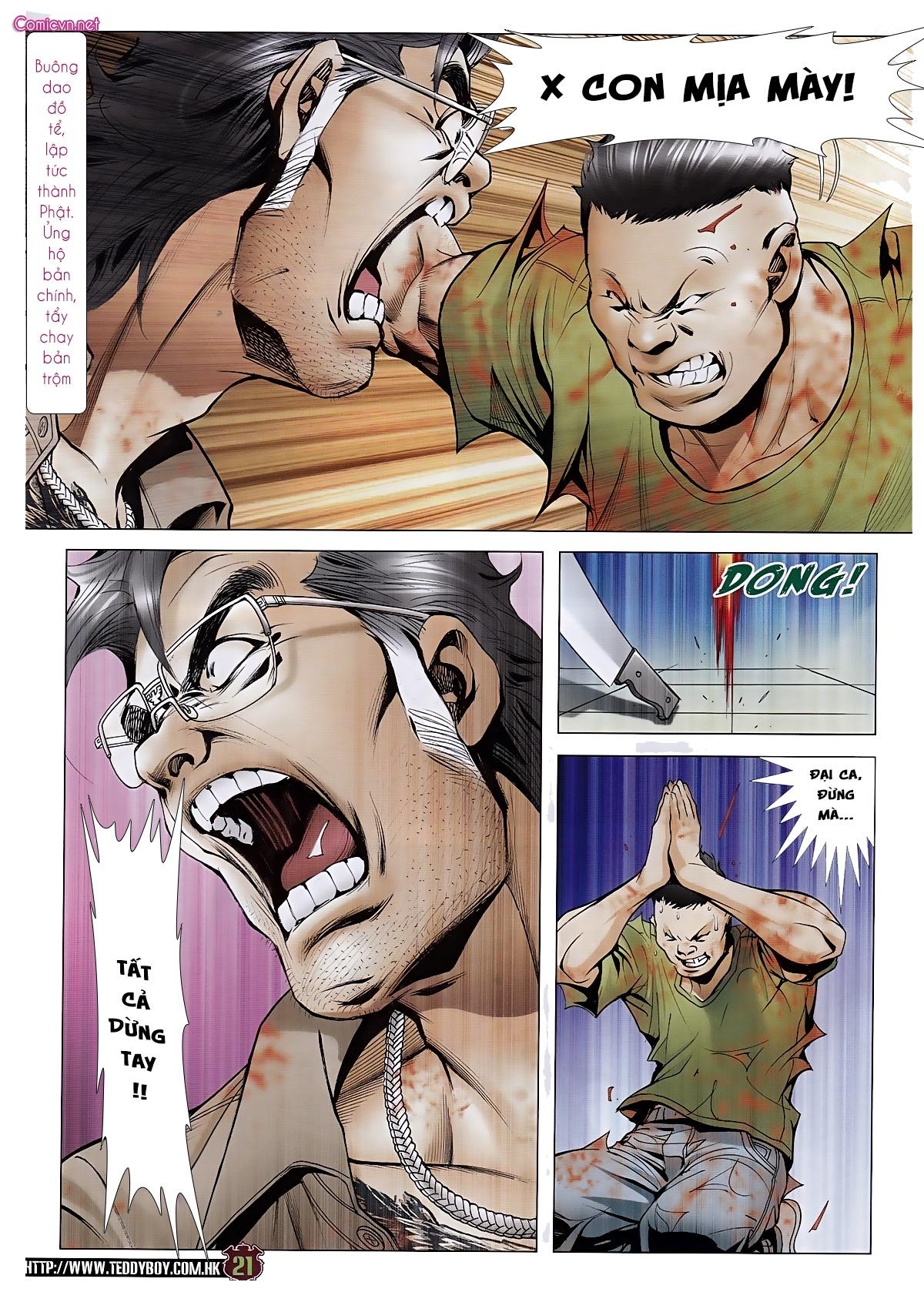 Người Trong Giang Hồ chapter 1963: đấu tử tử đấu trang 19