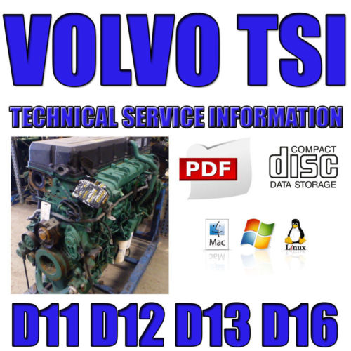on Volvo D13 Engine Service Manual