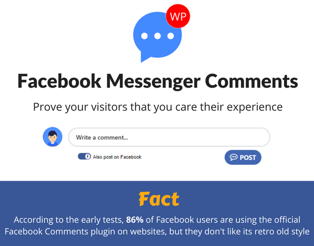 Facebook Messenger Comments For WordPress - wordpress-plugins, social-networking, codecanyon