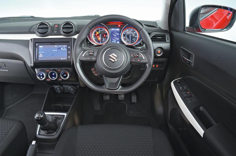 2019 Swift interior
