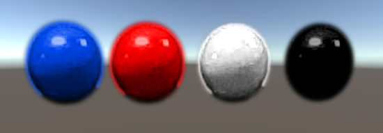 overlay coloured balls
