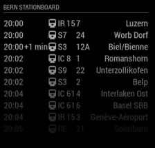 Stationboard