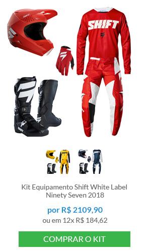 Kit Equipamento Shift White Label                          Ninety Seven 2018