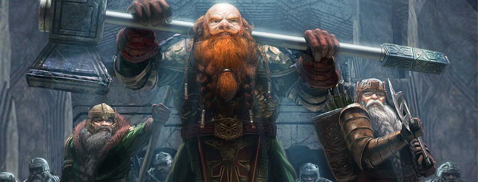 Mighty dwarf warriors
