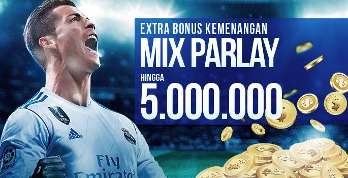 Bonus Ekstra Kemenangan Mix Parlay