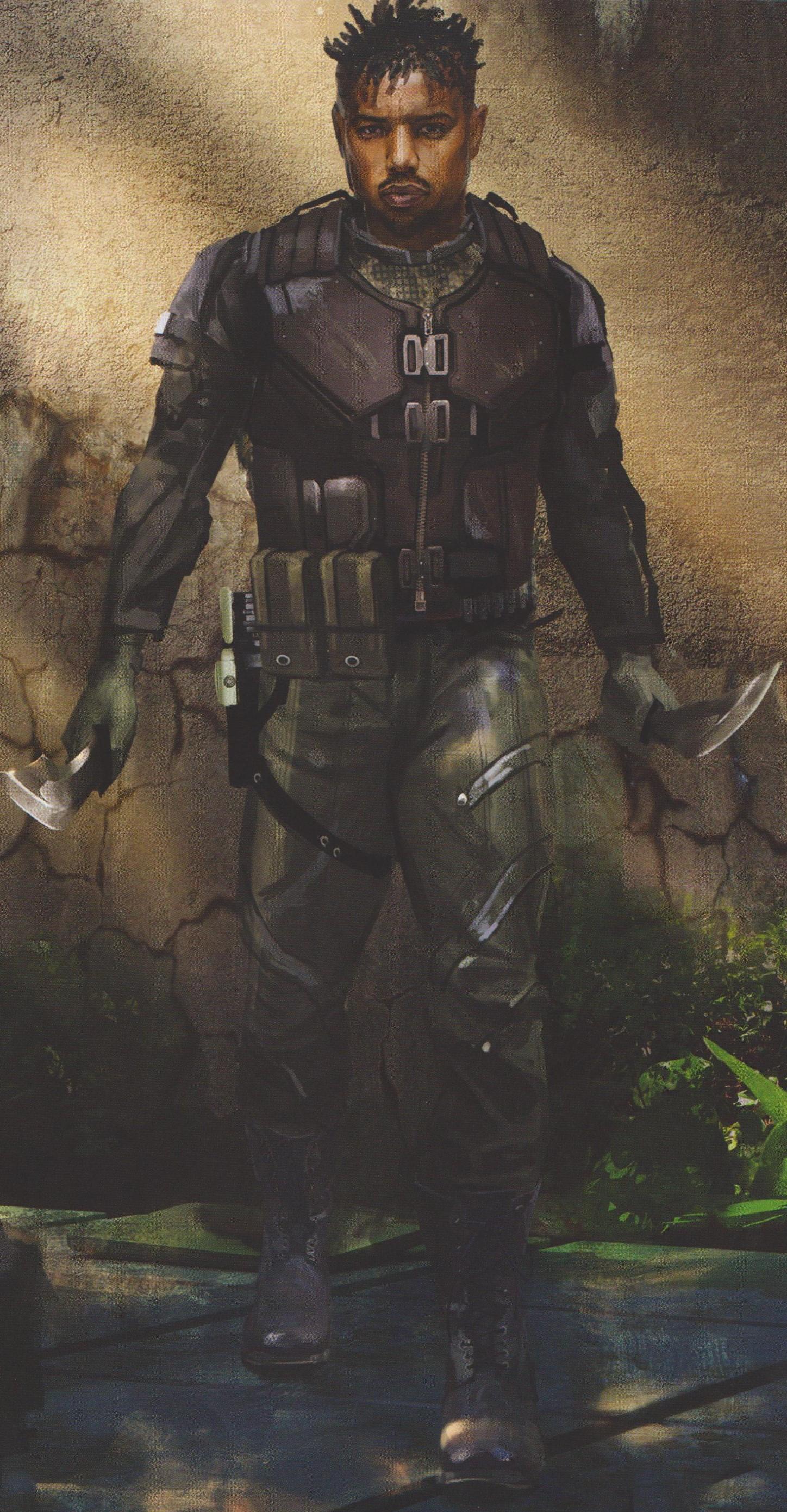 Black Panther Erik Killmonger Looks A Lot Like The Predator