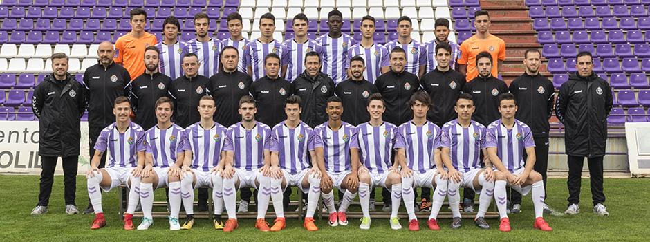 Real Valladolid Juvenil A - Temporada 2017/18 - División de Honor  1_plantillas_RV_1