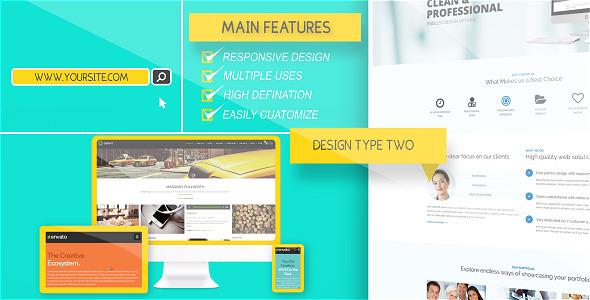 Videohive Website Presentation Pack 8935398