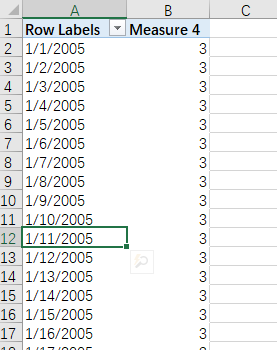 Analyze in Excel causes problems with date types - Microsoft