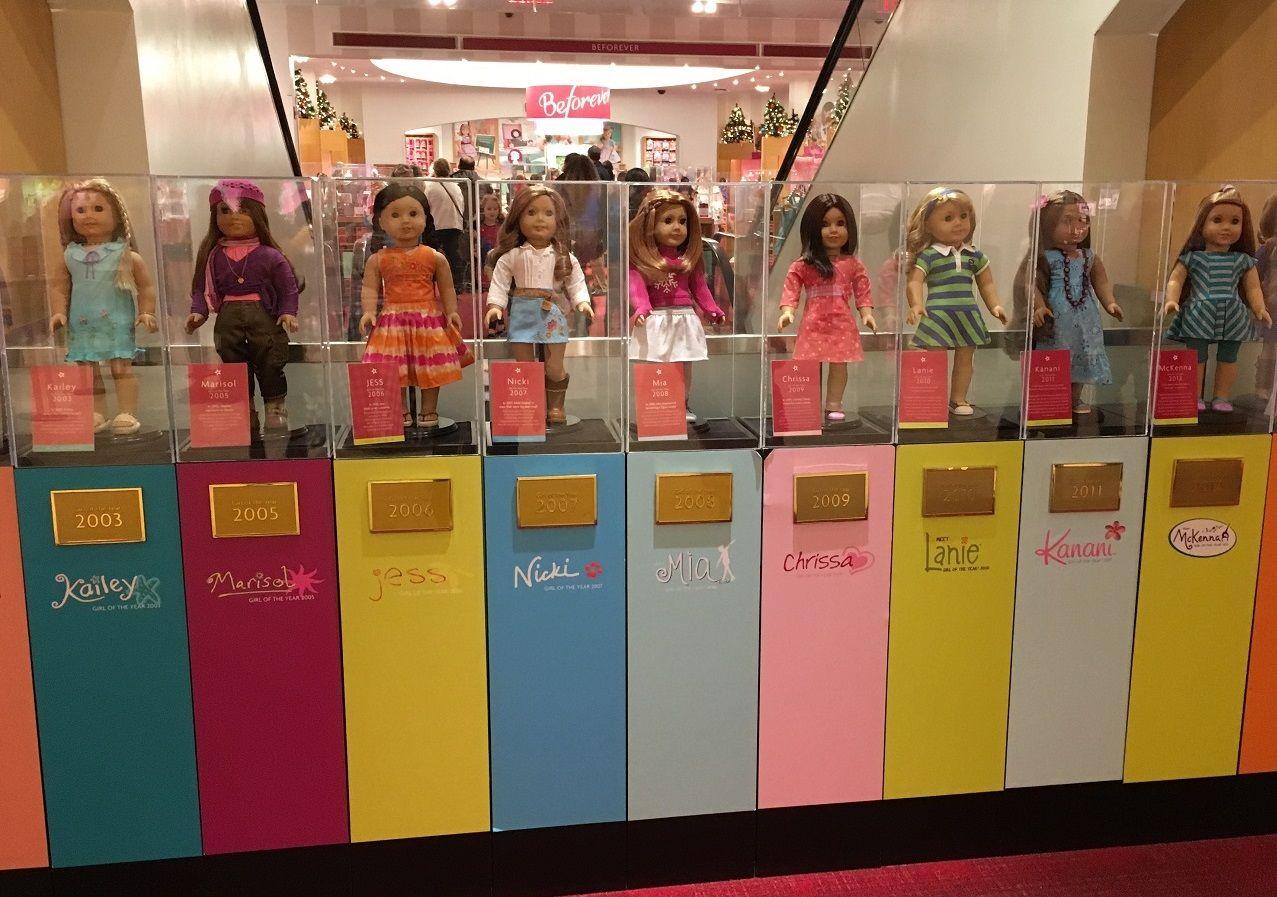 American Girl shop New York City