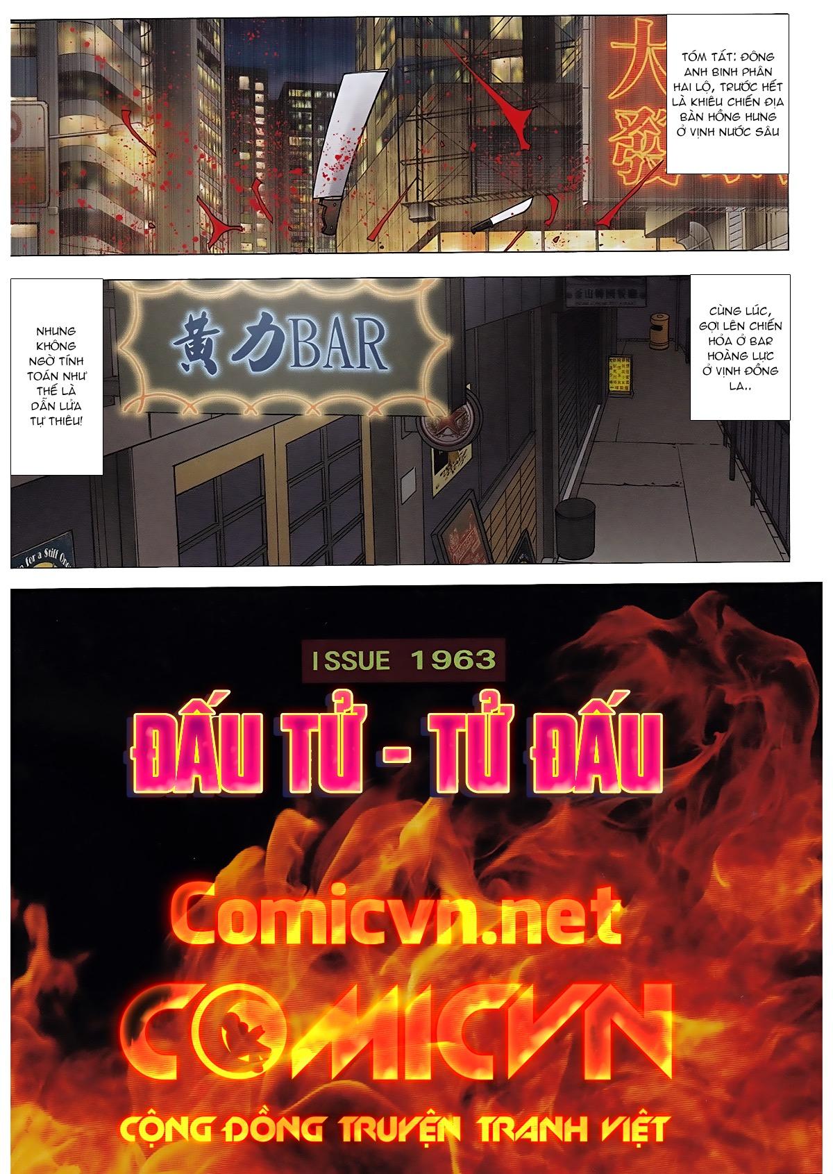 Người Trong Giang Hồ chapter 1963: đấu tử tử đấu trang 2